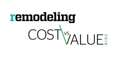 2018 Cost Versus Value Remodeling Report